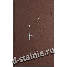 Стальная дверь T5, Порошковое напыление + Ламинат