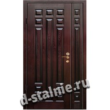 Стальная дверь D7, МДФ + МДФ
