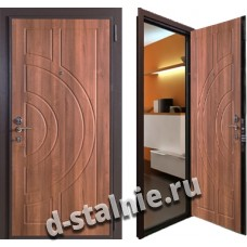Стальная дверь 004, МДФ + МДФ