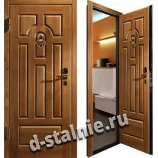 Стальная дверь в дом, модель 001