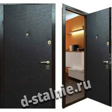 Стальная дверь 003, Винилискожа + Винилискожа