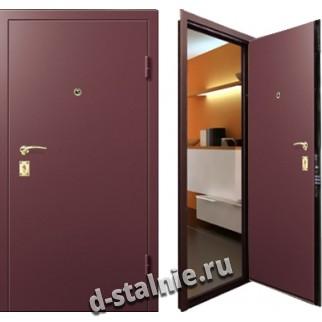 Стальная дверь в дом, модель 002