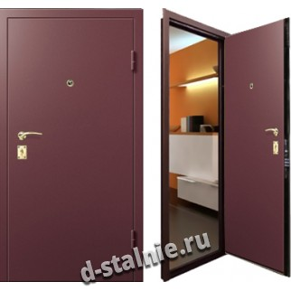 Стальная дверь 002, Порошковое напыление + Порошковое напыление