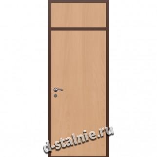Стальная дверь ВН-016, Ламинат + Ламинат