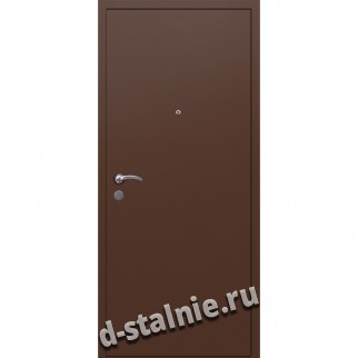 Стальная дверь ВН-001, Краска + Ламинат