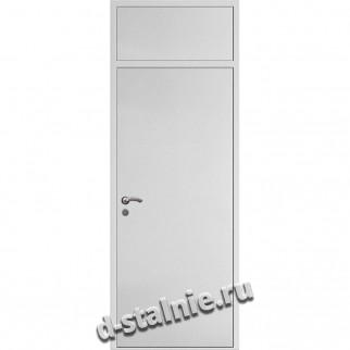 Стальная дверь ВН-008, Порошковое напыление + Ламинат
