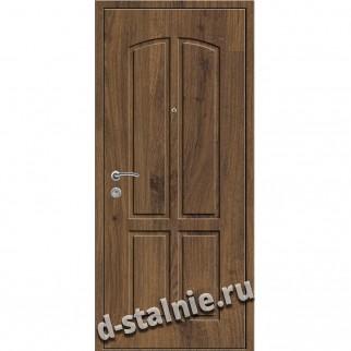 Стальная дверь ВН-007, МДФ + МДФ
