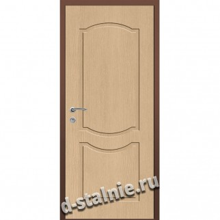 Стальная дверь ВН-012, МДФ + МДФ