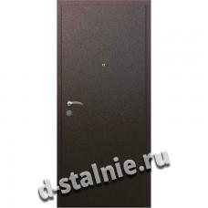 Стальная дверь ВН-004, Порошковое напыление + МДФ