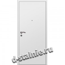 Стальная дверь ВН-002, Краска + Ламинат