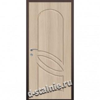 Стальная дверь ВН-015, МДФ + МДФ