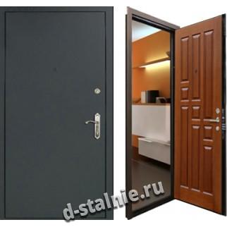 Стальная дверь 100, Нитроэмаль + МДФ