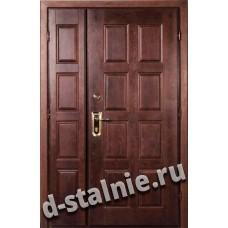 Двустворчатая металлическая дверь во Всеволожске модель 104