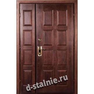 Стальная дверь 104, МДФ + МДФ