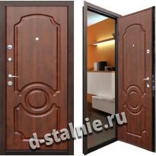 Стальная дверь 102, МДФ + МДФ