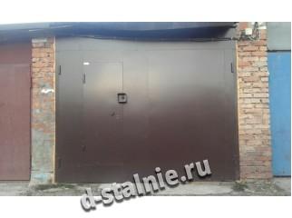 Гаражные ворота 00-47, Краска + Краска