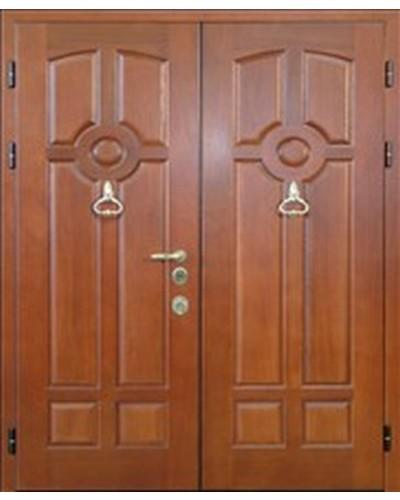 купить входную двухстворчатую дверь в коттедж